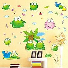 Abnehmbare Wandaufkleber Kinderzimmer Cartoon