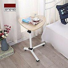 Abnehmbarer Laptop-Schreibtisch Nachttisch Mobiler