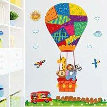Abnehmbares Kinderzimmer, Cartoon-Ballon,