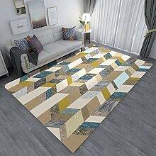 Aboygo Hochflor Teppich 80x120cm Flauschiger