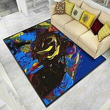 Aboygo Kinder Teppiche Rechteck 80x160cm Designer
