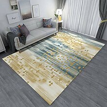 Aboygo Teppich WöLkchen 120x160cm Quadratisch
