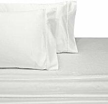 Abripedic King Wasserbett Bettlaken, weiß, 100%