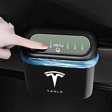ABS Auto-Mülleimer für Tesla Model 3/Y/S/X