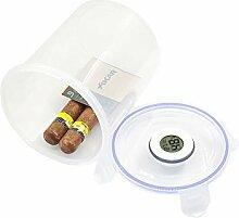 ABS Humidor Zigarrendose mit LCD-Luftbefeuchter,