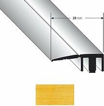 Abschlussprofil Duo Grip 8100 28mm Ahorn 0,9m