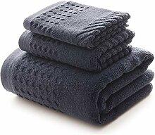 Absorbent Männer Handtuch Set Cotton Großes