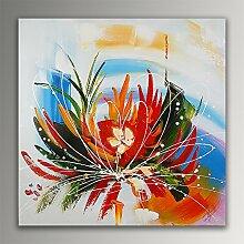 Abstract flower Acryl Gemälde auf Leinwand von