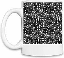 Abstract Print Kaffee Becher