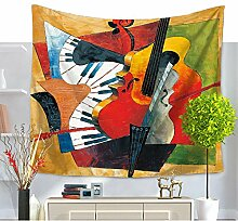 Abstract Psyschedelic Art Wandbehang Bohemian