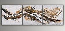 Abstrakt Acryl Gemälde auf Leinwand von Hand