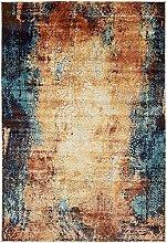 Abstrakt Ethereal Bereich Teppich, Polypropylen, ziegelrot, 4 x 6