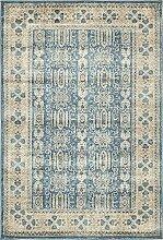 Abstrakt Traditionelle Salzburg Bereich Teppich, hellblau, 4 x 6