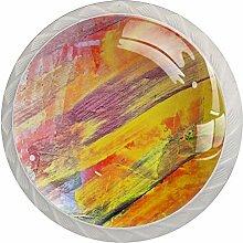 Abstrakt7 Türknauf, Glas, für Schrank, Schrank,