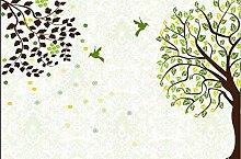Abstrakte Baum Kreis Benutzerdefinierte 3D