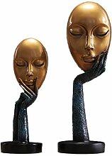Abstrakte Charakter Maske Modellierung Ornamente