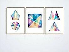 Abstrakte farbenfrohe geometrie dekorative