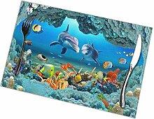 Abstrakte Fisch Aquarium Illustration Design und