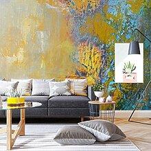 Abstrakte Kunst Ölgemälde Wohnzimmer Sofa Tv