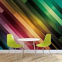 Abstrakte Kunst - Wallsticker Warehouse - Fototapete - Tapete - Fotomural - Mural Wandbild - (1435WM) - XXXL - 416cm x 254cm - VLIES (EasyInstall) - 4 Pieces