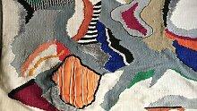 Abstrakte Tapisserie von Artmess, 1960er