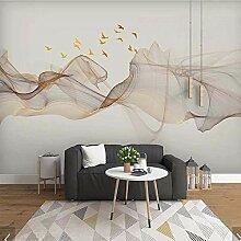 Abstrakte Tinte Landschaftsdruck Tapete Wandbild