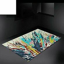 Abstrakte und europäischen modernen minimalistischen Wohnzimmer Couchtisch Sofa Wollteppich/Schlafzimmer Bettdecke-G 160x230cm(63x91inch)
