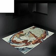 Abstrakte und europäischen modernen minimalistischen Wohnzimmer Couchtisch Sofa Wollteppich/Schlafzimmer Bettdecke-A 160x230cm(63x91inch)