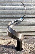 Abstrakte Vintage Skulptur von Curtis Jere, 1994