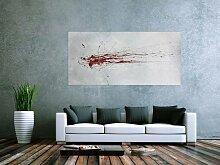 Abstraktes Acrylbild XXL in 90x180cm Kunst im
