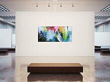 Abstraktes Acrylbild XXL in 90x200cm Kunst im