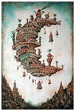 Abstraktes Luftbild-Puzzle 1000 Stück