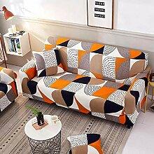 ABUKJM Sofabezug Ohne Armlehnen Einfarbig Elastische Sofabezug Spandex Moderne Polyester Ecksofabezug Sofabezug Sofabezug Wohnzimmer 1//2//3//4 @ Army Green Three