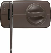 ABUS Tür-Zusatzschloss mit Sperrbügel 7030 S, braun 532986