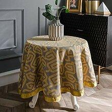 Abwaschbar hochwertig tischdecke luxus-tischdecke