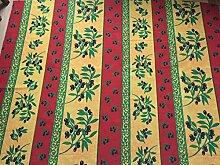 Abwischbare Provence-Tischdecke, ca. 300x160 cm,