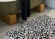 Abyss & Habidecor Badematte Leopard, farbe linen,