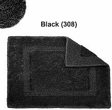 Abyss & Habidecor.- Badematte Reversible 50x80 cm Black 990
