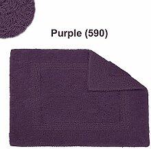 Abyss & Habidecor.- Badematte Reversible 50x80 cm Purple 490