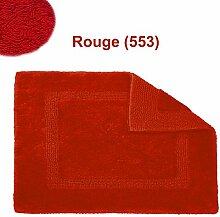 Abyss & Habidecor.- Badematte Reversible 50x80 cm Rouge 553