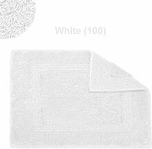 Abyss & Habidecor.- Badematte Reversible 50x80 cm White 100