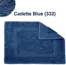 Abyss & Habidecor.- Badematte Reversible 60x60 cm Cadette Blue 332