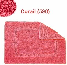 Abyss & Habidecor.- Badematte Reversible 60x60 cm Corail 590