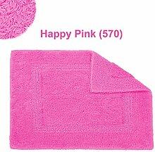 Abyss & Habidecor.- Badematte Reversible 60x60 cm Happy Pink 570