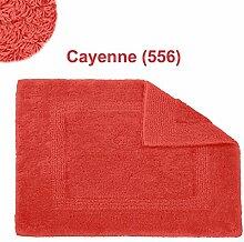 Abyss & Habidecor.- Badematte Reversible 80x150 cm Cayenne 556