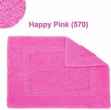 Abyss & Habidecor.- Badematte Reversible 80x150 cm Happy Pink 570