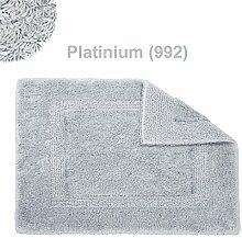 Abyss & Habidecor.- Badematte Reversible 80x150 cm Platinum 992