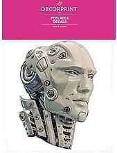 Abziehbild Für Porzellan Und Glas - Robotok -