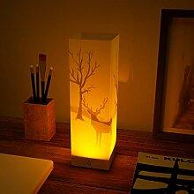 ABZON LED-Nachtlicht, Nachttischlampe,