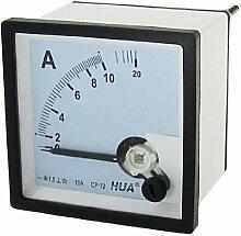 AC 10A Kunststoff Analog Current Panel Meter